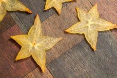 Carambola stars Stock Photo