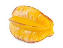 Carambola on the white Stock Image