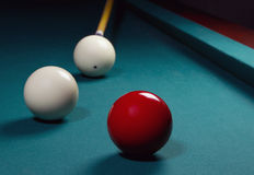 Carambole billiard Royalty Free Stock Photos