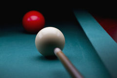 Carambole billiards Obrazy Royalty Free