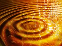 Caramel. A caramel puddle with a golden color Stock Photography