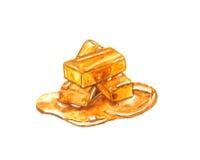 caramel Photo stock