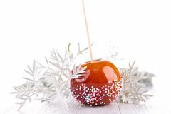 Caramel Apple Photo libre de droits