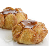 Caramel Apple Cakes Stock Image