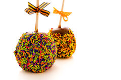 Caramel apple Royalty Free Stock Photography