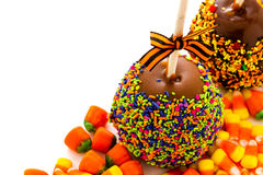 Caramel apple Royalty Free Stock Image
