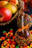 Caramel apple Royalty Free Stock Image