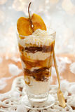 Caramel Apple Parfait Royalty Free Stock Photos
