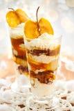 Caramel Apple Parfait Royalty Free Stock Images