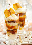 Caramel Apple Parfait Royalty Free Stock Image