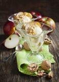 Caramel apple sundae Royalty Free Stock Photo