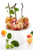 Caramel apples Stock Photography
