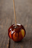 Caramel apples Stock Images