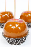 Caramel Apples Stock Image