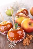 Caramel apples Stock Photography