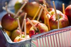 Caramel apples Royalty Free Stock Photography