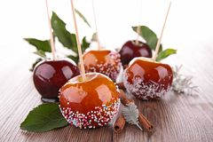 Caramel apples Royalty Free Stock Photos