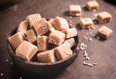 Caramel bonbons Royalty Free Stock Photography