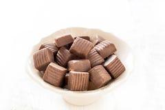 Caramel bonbons Stock Photo