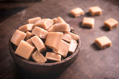 Caramel bonbons Stock Photography