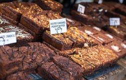 Caramel Brownies Royalty Free Stock Photo