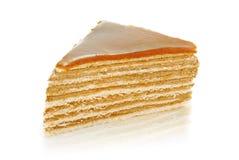 Caramel cake Stock Image