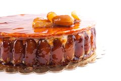 Caramel Cake Royalty Free Stock Photography