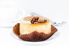 Caramel cake deatil Stock Photography