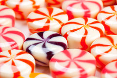 Caramel candies Royalty Free Stock Images
