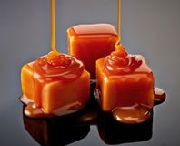 Caramel candies Royalty Free Stock Image