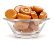 Caramel candies Stock Photography