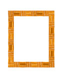 Caramel candies frame Royalty Free Stock Photo