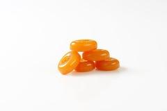Caramel candies Stock Photos