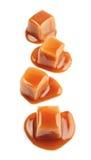 Caramel candies . Royalty Free Stock Image