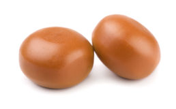 Caramel candies stock image