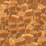 Caramel Candy. Seamless Texture Tile from Photographic Originals Stock Photos