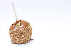 Caramel Candy Apple Royalty Free Stock Images