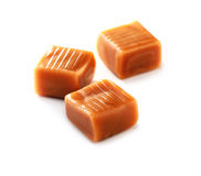 Caramel candy  close-up Royalty Free Stock Photos