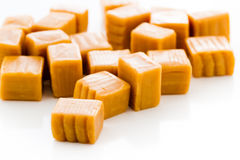 Caramel candy Stock Photography