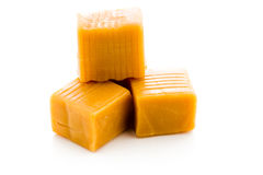Caramel candy Stock Image