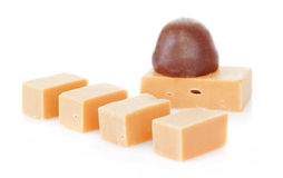 Caramel and chocolate Royalty Free Stock Photography