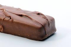 Caramel chocolate bar. Image of a chocolate bar stock image
