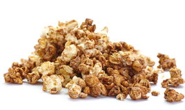 Caramel chocolate popcorn Royalty Free Stock Photography
