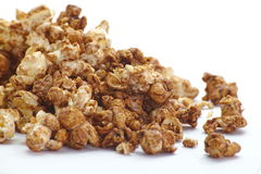 Caramel chocolate popcorn Stock Images