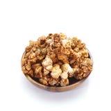Caramel chocolate popcorn Stock Photos