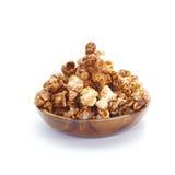 Caramel chocolate popcorn Royalty Free Stock Image