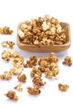 Caramel chocolate popcorn Royalty Free Stock Image