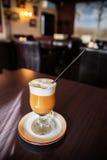 Caramel coffee Stock Photos