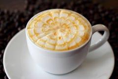 Caramel coffee Royalty Free Stock Photography