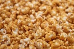 Caramel corn closeup Royalty Free Stock Image
